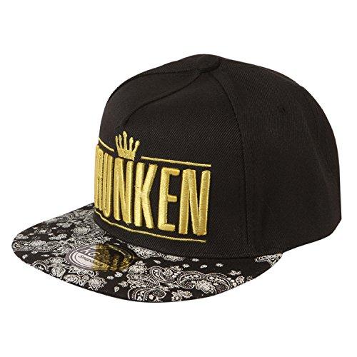 40% OFF on ILU 3D Drunken Snapback Cap Hip-hop cap  Baseball cap on Amazon   530bd96d8ea4