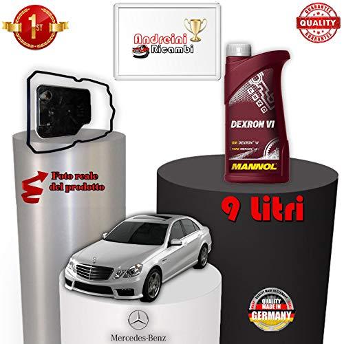 KIT FILTRO CAMBIO AUTOMATICO E OLIO W211 E 220 CDI 125KW 2009 -> /1076
