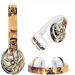Beats Magic Sound Studio2 / 3 Sans Fil Bluetooth Casque Autocollants Corps Autocollants Personnalité Film De Protection Coloré G