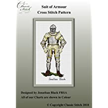 Suit of Armour Cross Stitch Pattern