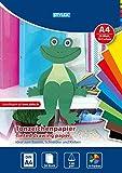 STYLEX 46723 Papier, verschiedene Farben, 30 x 21 x 0,5 cm