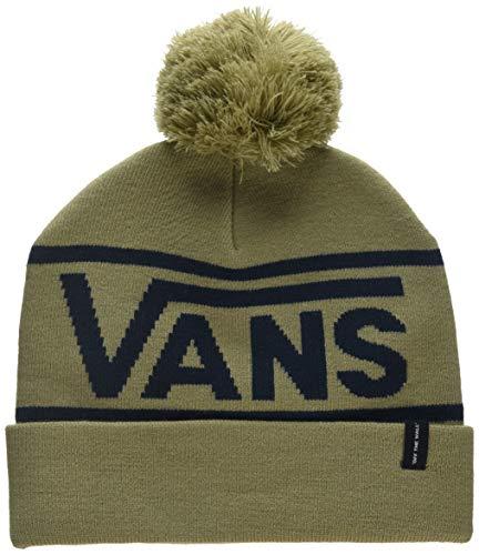 Imagen de vans_apparel drop v beanie gorro de punto, beige khaki dress blues kf4 , talla única para hombre