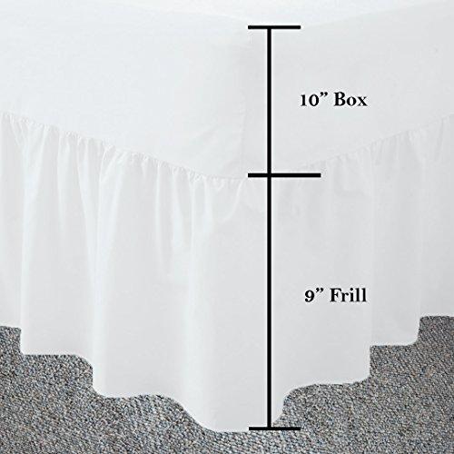 Bord avec motif souple, facile à nettoyer, double en percale, couleur : blanc