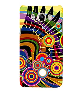 Design In animation 3D Hard Polycarbonate Designer Back Case Cover for Samsung Galaxy On8