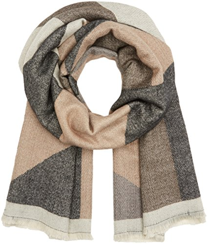 PIECES Damen Schal PCJAPPA LONG SCARF Mehrfarbig (Ginger Snap), One Size