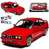 alles-meine GmbH BMW 3er E30 M3 Coupe Sport Evolution Rot 1982-1994 1/18 Solido Modell Auto