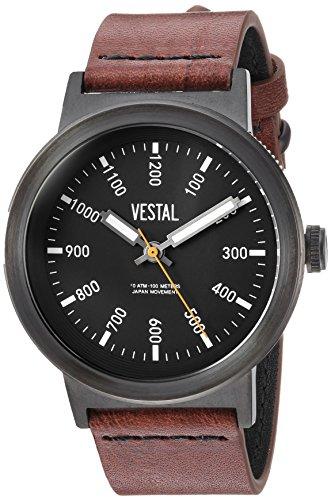 Vestal SLR443L03.BRBK - Orologio da polso da uomo, colore: Marrone