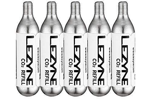 Lezyne CO2 20g, 5 Stück Ersatzkartuschen, Silber, M