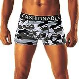 ❤️Higlles Sexy Slip Boxer Homme de Coton sous-vêtements Slips Triangle Slip Boxer Shorty Briefs,Lot