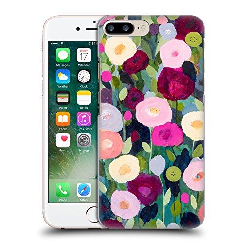 Ufficiale Carrie Schmitt Casa Di Girasole Floreale Cover Retro Rigida per Apple iPhone X Giardino Notturno