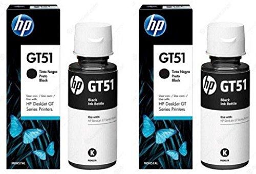 HP GT51 Black Ink Bottle   Pack of 2