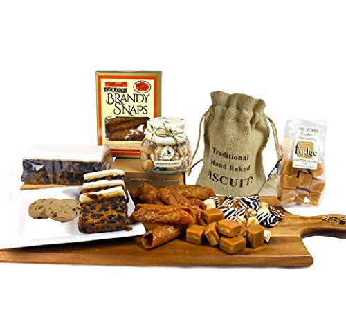 Sweet Nostalgic Puddings and Treats Hamper Box - Free UK Delivery In Time For Mother's Day