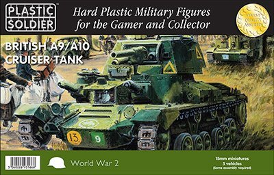 Plastic Soldier Company British A9/A10 Cruiser Tanks 15mm