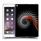 Offizielle Sven Fauth Titan Silber Helix Soft Gel Hülle für Apple iPad Air 2