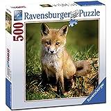 Ravensburger - Puzzle Cachorro B Cuadrado, 500piezas (15237)