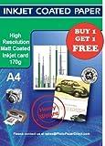 PPD Inkjet matt beschichtetes Foto Qualität Papier A4170gsm x 100Blatt ppd-56–100