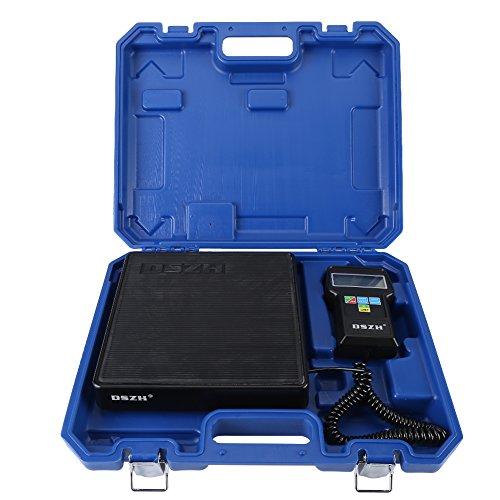 Balance de Kühlmittel ELECTRONIQUE Laden von Präzision Kalibrierung Gewicht etalonnage Balance Gewicht für Heizung Lüftung Klimaanlage mit LCD-Display