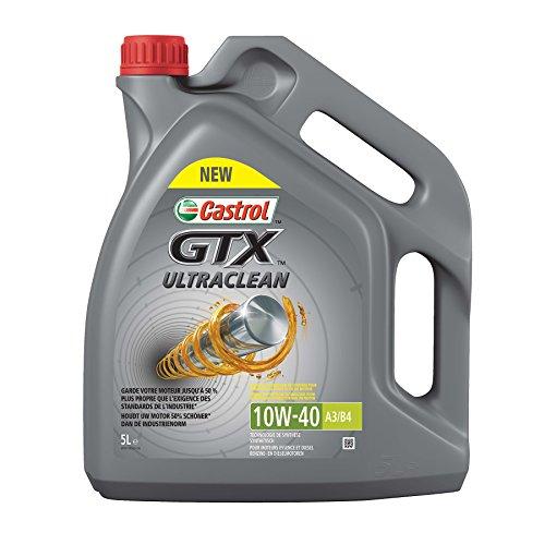 Castrol 055055GTX Ultra 10W-40 - Aceite de Motor (5L)