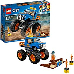 Lego City - Great Vehicles Monster Truck, Multicolore, 60180