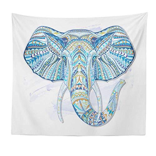lqntapestry Tapiz Elefantes Colgante de Pared Manta Toalla de Playa Alfombra de...