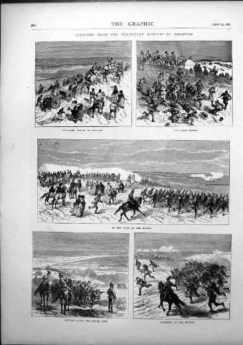 Freiwilliger Zusammenfassungs-Brighton-Artillerie-Positions-Angriffs-Kampf 1871