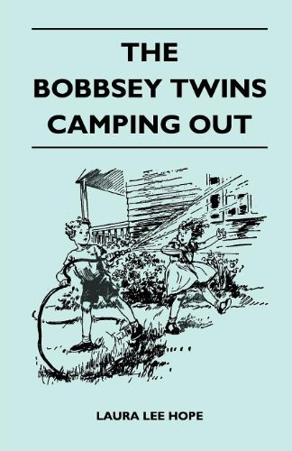 The Bobbsey Twins Camping Out Cover Image