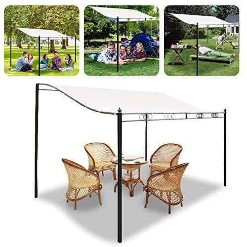 DyNamic 3 Größe Sun Shade Sail Garden Patio Sunscreen Awning Canopy Screen Uv Block Top Cover - #3 - Canopy Top Cover