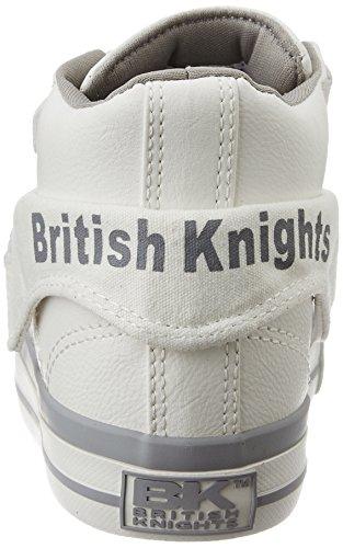 British Knights Damen Roco High-Top BLANC /GRIS CLAIR