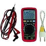 Multimètre numérique 3 3/4 digits avec sélection automatique 10A.