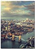 Panorama® Poster Tower Bridge London 21 x 30 cm | Gedruckt