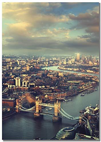 Panorama® Póster Tower Bridge London 70 x 100 cm