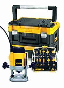 DeWalt DW621KXT Défonceuse électronique 900 W en coffret