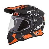 Oneal Sierra II Helmet Comb Black/Orange L (59/60cm) Casco, Adultos Unisex