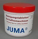 JUMA Reinigungstabletten für Kaffeevollautomaten / Kaffeemaschinen 200 Stück a 2g - Kompatibel mit Bosch, DeLonghi, Jura, Krups, Melitta, Miele, Siemens