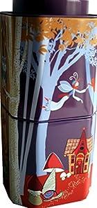 """'Boîte à thé décor Lot de 2""""Monde des Contes, 8eckig magique, pour env. 100g de thé (frachtfreie Livraison (BRD) à partir de & # x20ac?; 15,00)"""