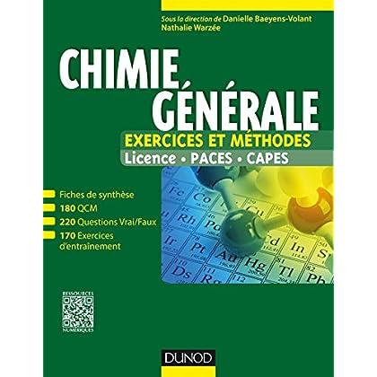 Chimie générale : Exercices et méthodes (Tout le cours en fiches)