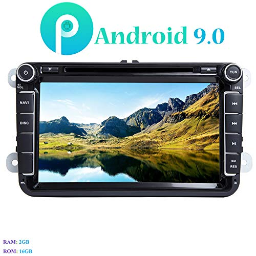 Android 9.0 Autoradio, Hi-azul 8