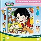 Heidi - Mein Riesenpuzzlebuch. Mit 5 Puzzles und vielen Lernaufgaben