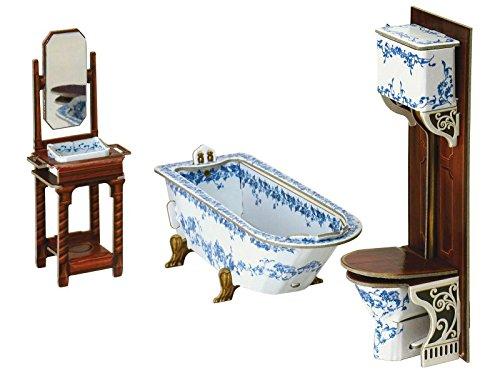 Keranova keranova33113.x 5x 4,5cm clever papel y colección de muebles para casa de muñecas baño 3d Puzzle