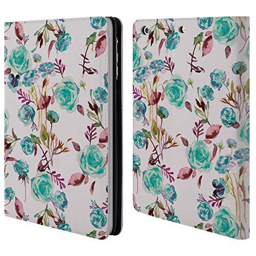 fizielle Ninola Rose-Bukett-Neon Botanisch Brieftasche Handyhülle aus Leder für iPad Mini 1 / Mini 2 / Mini 3 ()