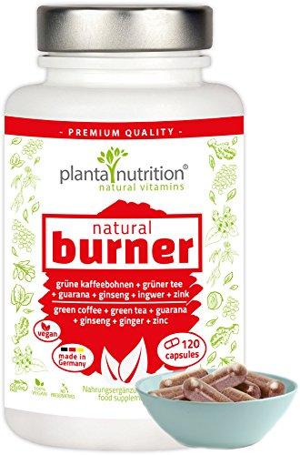 Fatburner Kapseln auf natürlicher Basis hochdosiert zur Stoffwechselkur oder Diät, zum Abnehmen mit Tabletten schnell und ohne Sport | Das Fettweg Erfolgsprodukt im effektiven Fettverbrenner Komplex