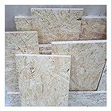 1m² Reste 25mm OSB/3 Grobspanplatte Zuschnitt Holz Platten Feuchtraum-geeignet nach DIN EN 300 Verlegeplatten Holzwerkstoff-Platten Spanplatten