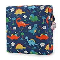 Booster Seat Owl Printed Harness Cushion Dismountable Kid Baby Seat Highten Pad Travel Storage Chair Toddler Infant Dining Chair