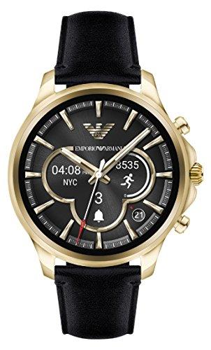 45c22f46e1b8 Emporio Armani Reloj Hombre de Digital con Correa en Cuero ART5004