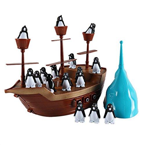 Xshuai Desktop Spielzeug Interaktive Spaß Brettspiel Balance Boot Piraten Boot Party Spiel (Schicke Piraten Mädchen Kostüme)
