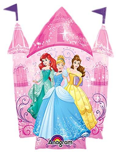 Amscan International 8.619.241,1cm Disney Princess Mini Form Folienballon (Disney Princess Dress Up-box)