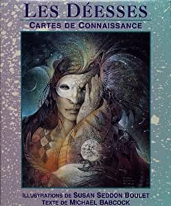 Jeu de cartes - Méditation - Déesses - Cartes de Connaissance - 48 Cartes