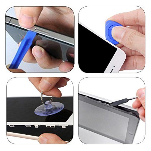 AUTOPkio 80 in 1 Schraubendreher Set Magnetic, Austauschbar Magnetverschluss Hardware Werkzeugset Reparatur für iPhone, iPhone 7/7 Plus, iPad, elektronische Kleingeräte Handy Tablet PC Laptop - 7