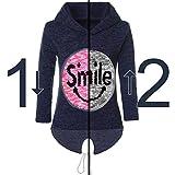 BEZLIT Mädchen Kapuzen Pullover Pulli Wende-Pailletten Sweatshirt Hoodie 21544 Blau Größe 116 Test