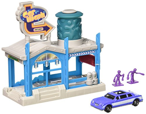 matchbox-car-wash-playset-with-die-cast-car-by-mattel
